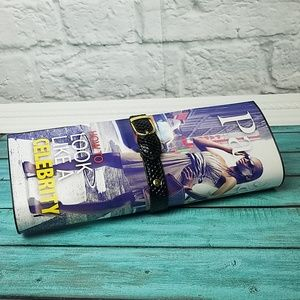 Retro Magazine clutch purse